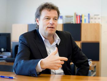 Alpla-CEO Günther Lehner. Foto: Steurer