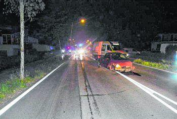 Am Auto des 63-jährigen Lenkers entstand erheblicher Sachschaden.Foto: Polizei