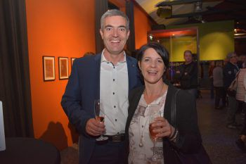 "<p class=""caption"">Andreas Giesinger (Raiba) mit Ehefrau Elsbeth.</p>"