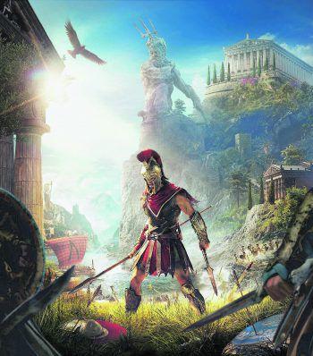 """""""Assassin's Creed: Odyssey"""" bietet bis zu 100 Stunden Spielspaß. Großartig!Screenshots: Ubisoft"""