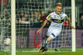 Beim 1:1 gegen den LASK am 11. Spieltag machte Christian Gebauer das Tor für die Altacher.  Fotos: Stiplovsek