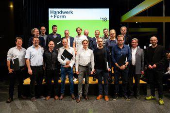 """Beim """"Handwerk + Form"""" konnten sich zahlreiche Vorarlberger über eine Auszeichnung freuen.Fotos: Matthias Dietrich"""