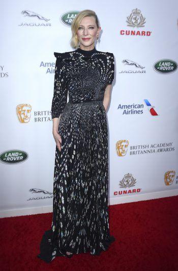 Beverly Hills. Stilsicher: Schauspielerin Cate Blanchet zeigt sich in edler Robe auf dem roten Teppich.