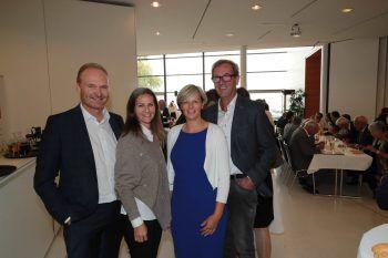 """<p class=""""caption"""">Bgm. Guido Flatz, Marita Giselbrecht, Marlene Nußbaumer und Werner Vögel.</p>"""
