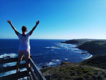 """<p class=""""caption"""">Das Gefühl von Freiheit auf der Phillip Island in Australien.</p>"""
