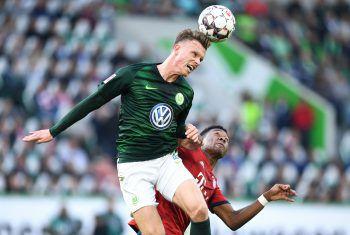 David Alaba und der FC Bayern siegen in Wolfsburg mit 3:1. Foto: GEPA