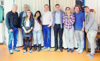 Der Vorstand der offenen Jugendarbeit Rankweil.Foto: Wirtschaft & Kommunikation / Marktgemeinde Rankweil