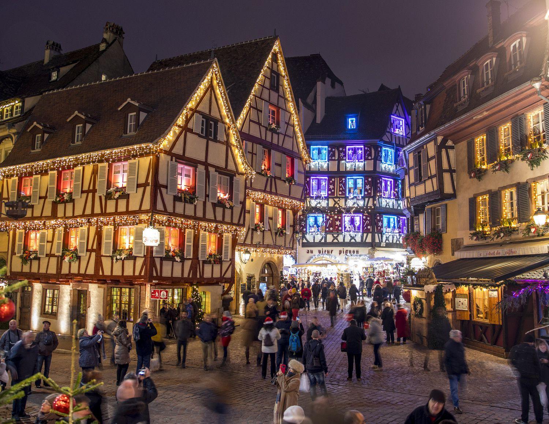 Colmar Weihnachtsmarkt.Weihnachtsmärkte Straßburg Und Colmar Wann Wo