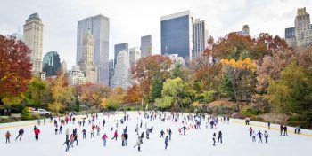 """<p class=""""caption"""">Eislaufen im Central Park: Ein echtes Highlight!</p>"""