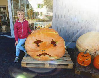 Felix (7) freut sich schon riesig auf Halloween.Fotos: Privat