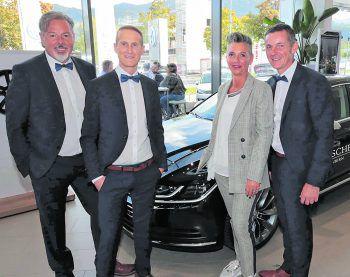 Horst Giselbrecht, Jürgen Schatz, Claudia Prosegger-Steffani und Jörg Peham. Fotos: A. Meusburger