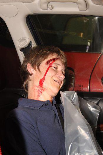 """<p class=""""caption"""">Insgesamt fünf Verletzte galt es zu bergen.</p>"""