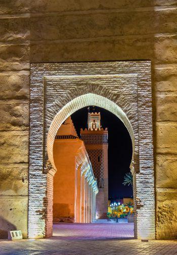 Kleine Gassen und traumhafte Ausblicke kann man in Marrakesch genießen.