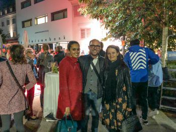 "<p class=""caption"">Klubobmann Michael Ritsch MBA, Frau Yvonne und Fiona.</p>"