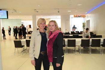 """<p class=""""caption"""">Liane Nußbaumer und KAB-GF Klaudia Safarik.</p>"""