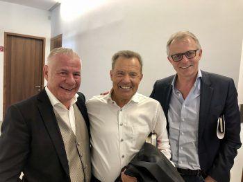 Michael Walser, Erik Schinegger und Claus Müller. Fotos: Franz Lutz