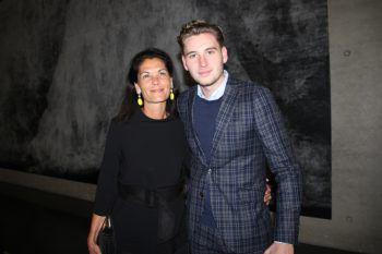 "<p class=""caption"">Pilar Thurnher-Zerpa mit Sohn Antonio.</p>"