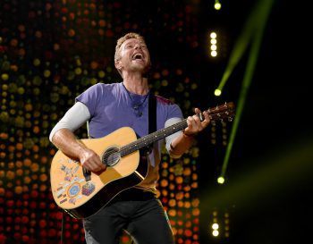 """Sänger Chris Martin bei der """"A Head Full Of Dreams""""-Tour in Buenos Aires.Foto: AFP"""