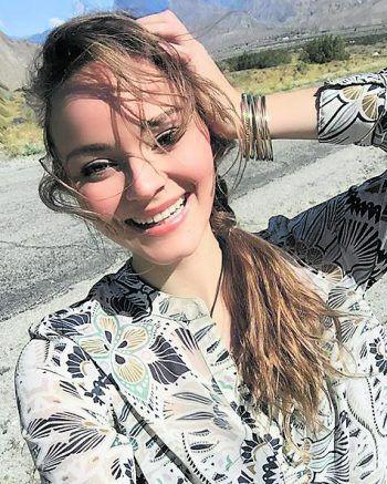 <p>Smile!: Laura Bilgeri ist immer mit einem Lächeln unterwegs.</p>