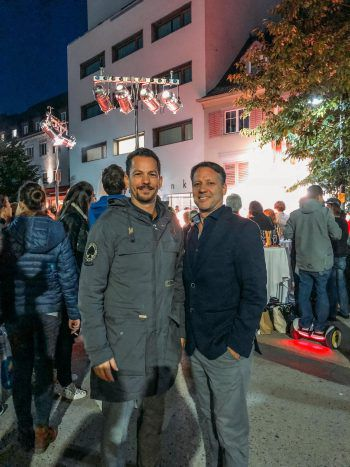 "<p class=""caption"">Stadtmarketing GF Robert S. Salant und Architekt DI Hannes Michelon.</p>"