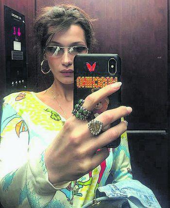<p>Stylisch: Bella Hadid zeigt ihr geniales Styling.</p>