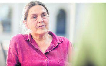 WANN & WO bat Katharina Lins, Vorarlberger Naturschutzanwältin und Vizeobfrau des Klimabündnisses, auf dem Gelände der Inatura in Dornbirn zum Gespräch.Fotos: Sams
