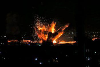 400 Raketen und Granaten wurden aus dem Gazastreifen abgefeuert. Foto: APA