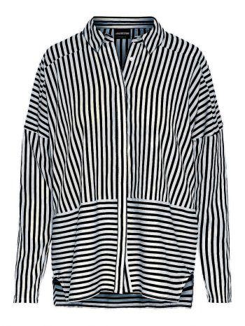 """<p class=""""caption"""">Allround-Talent: Das gestreifte Hemd ist zu allem kombinierbar. Gesehen bei Vero Moda für 26,99 Euro.</p>"""