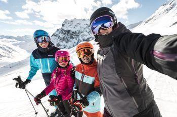 Alpine Kulisse mit majestätischen Gipfeln erlebt man in Gargellen. Foto: handout/Gargellen
