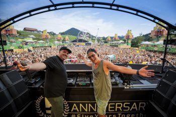"""Am 24. November feiert das """"Ländle Clubbing"""" Premiere. Als Top-Act wird DJ Shany (rechts) den Feierwütigen in Hohenems einheizen. Foto: DJ Shany"""
