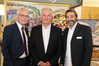 Anton Steinberger, Willi Bröll und Wolfgang Ender.Fotos: Franz Lutz