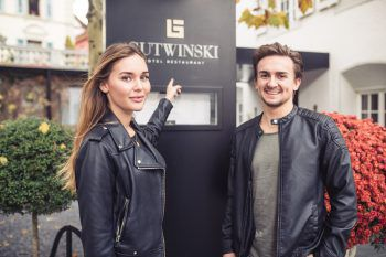"""<p class=""""caption"""">Das Gutwinski verwandelt traditionelle Gerichte in moderne Leckerbissen.</p>"""
