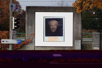 Die Billboards von Maeve Brennan werden morgen eröffnet. Foto: KUB