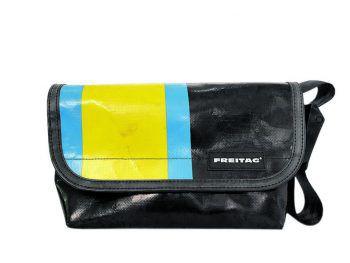 """<p class=""""caption"""">Die Tasche """"Hawaii Five-O"""" aus dem Hause """"Freitag"""" ist bei M3 Fashion & Shoes um 115 Euro erhältlich.</p>"""