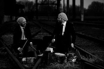 Double Drums sorgen für ordentliche Stimmung in der wirtschaft Dornbirn.