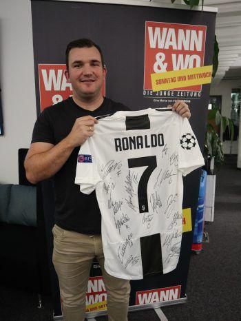 Versteigerungs-Highlight: ein signiertes Ronaldo-Trikot von Juventus Turin.
