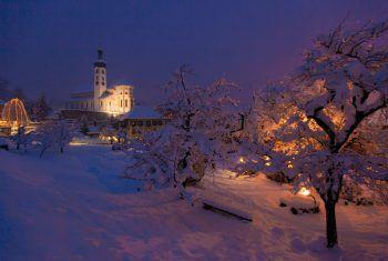 Wohrweihnachtliche Stimmung kann man noch bis zum 29. Dezember in Tschagguns erleben.Foto: Patrick Säly Fotografie