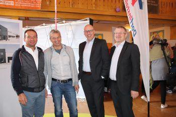 """<p class=""""caption"""">Franco Schneider, Luis Rehm, Gerd Herljevic und Markus Böhler.</p>"""