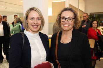 """<p class=""""caption"""">Gudrun Petz-Bechter und Annemarie Bechter.</p>"""