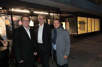 """<p class=""""caption"""">Hans-Peter Metzler, Karlheinz Rüdisser, Jürgen Kessler.</p>"""