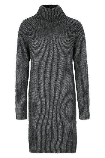 """<p class=""""caption"""">Herbst-Liebling: Dieses Strickkleid aus einer Schurwollmischung hält garantiert warm. Bei Drykorn um 179,95 Euro erhältlich.</p>"""