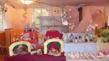Im Waldorfkindergarten Bregenz kann kommenden Samstag wieder allerhand Weihnachtliches erworben werden. Foto: handout/ Barbara Gilhaus-Sturn