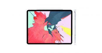 """<p>iPad Pro: Schmaler, schneller, schärfer ist auch Apples Anspruch für das neue iPad. Das Tablet ist mit 11""""- bzw. 12,9""""-""""Liquid Retina Display"""" erhältlich und unterstützt bis zu 1 TB Speicher. Statt Touch ID gibt es nun Face ID. Preis ab 879 Euro.</p>"""