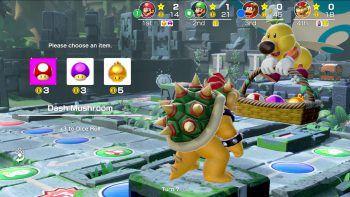 """<p class=""""caption"""">Items bringen verschiedene Vorteile im Spiel, wodurch man auch ohne Würfelglück gewinnen kann.Fotos: Nintendo</p>"""