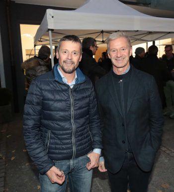 """<p class=""""caption"""">Jürgen Nussbaumer (Röfix) und Andrew Nussbaumer (Palast Gastronomie).</p>"""