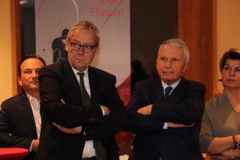"""<p class=""""caption"""">Karlheinz Rüdisser und Franz Rauch.</p>"""