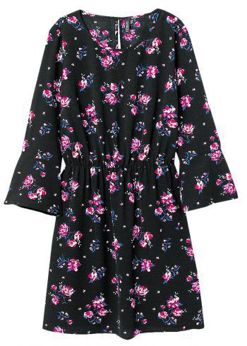"""<p class=""""caption"""">Kleid: Geblümeltes Kleid von H&M. Gesehen um 14,99 Euro.</p>"""