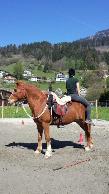 """<p class=""""caption"""">Lina und ihr Miro: """"Sei frech, wild und wunderbar!""""</p>"""