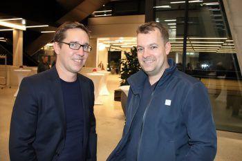 "<p class=""caption"">Markus Niedermair und Andreas Ellensohn.</p>"