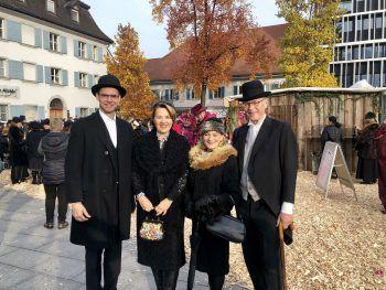 Markus Wallner, Andrea Kaufmann, Carmen und Martin Ruepp.